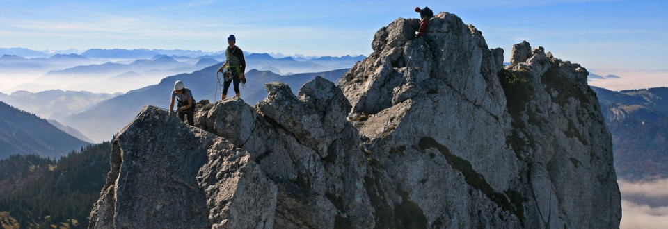 Feel on top of the world – in Chiemgau.