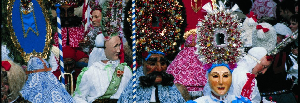 "Old Tradition: ""Fasching"" (Carnival)."
